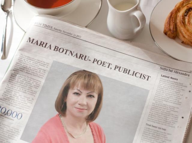 SĂRATA GALBENĂ A MARIEI BOTNARU