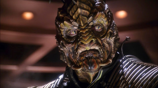Reptilian Xindi - Shape-shifting Royal